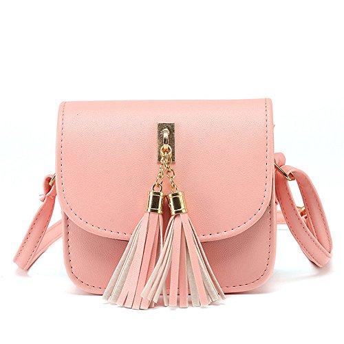Pendiente Único Moda Bolso Nueva Pink Pequeñas Tendencia Cuadrado Flecos GWQGZ BlanBDV9DiA9El Ocio Bolsas De 4U0ZIw4