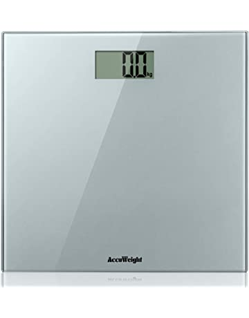 ACCUWEIGHT Báscula de Baño Digital de Alta Medición Precisa 180 kg, Balanza Digital Baño,