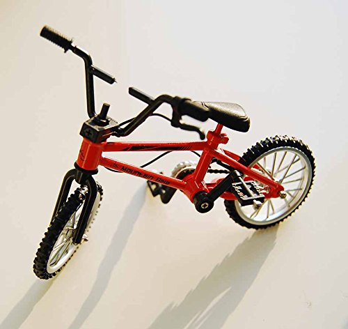 Dollhouse Miniature 1: 12 Scale Bike Bicycle Red Mountain Bike Finger Toy (Dollhouse Bicycle)