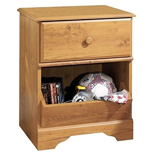 South Shore Night Stand Country Pine by South Shore