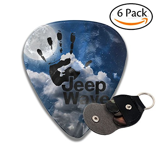 (The Jeep Wave - You Get It Or You Don't Sampler Guitar Picks - 6 Pack Complete Gift Set For Guitarist Best Gift For Guitarist)