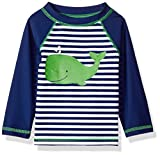 Little Me Baby Boys' Long Sleeve Rashguard, Whale, 24M
