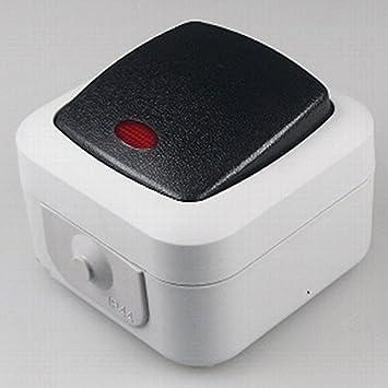 Steckdosen / Schalter Programm, Installation für Aufputzmontag ...