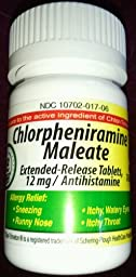 Chlorpheniramine Dosage