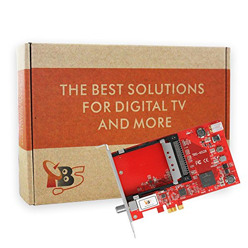 TBS 6528 Multi Standard TV Tuner Digital PCIe Satellite Card with CI Slot for live TV/ IPTV Server by TBS (Image #3)