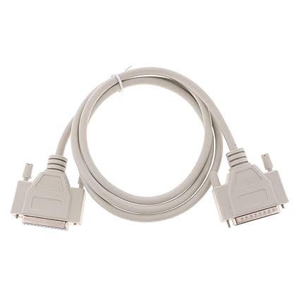 FLAMEER Cable Paralelo de Impresora LPT DB25 con Puerto Serie ...