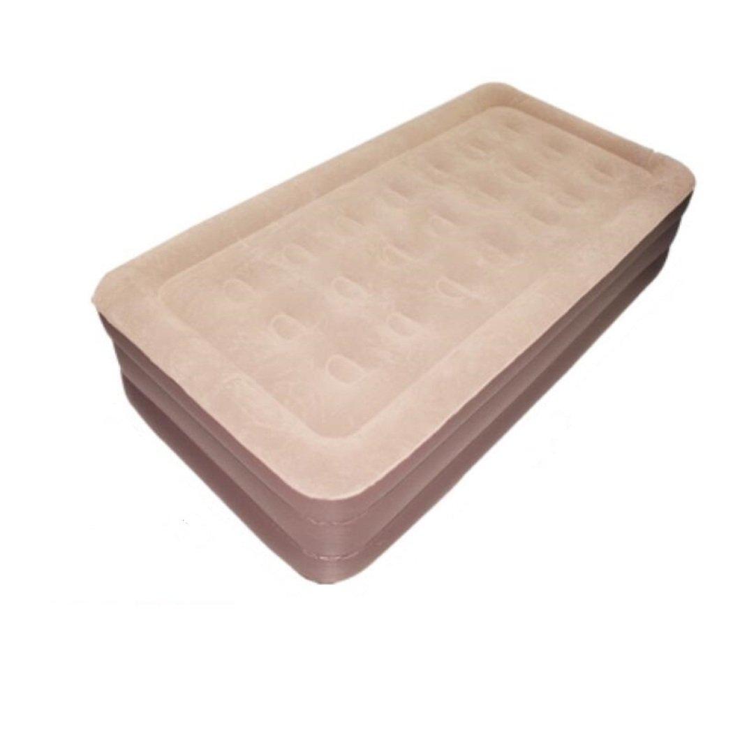 Aufblasbares Bett Luft Bett Hause Doppel / Single, Outdoor tragbares Bett aufblasbares Sofa mit externen Luftpumpe