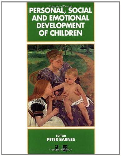 Book Personal, Social and Emotional Development of Children (Child Development)