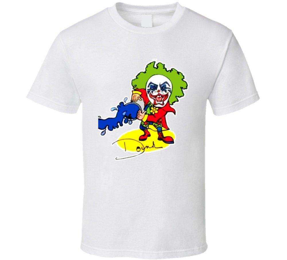 Doink The Clown Retro Wrestling T Shirt L White