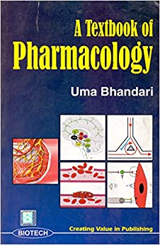 Book A Textbook of Pharmacology