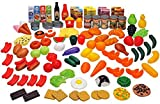 104 Piece Play Food Set by