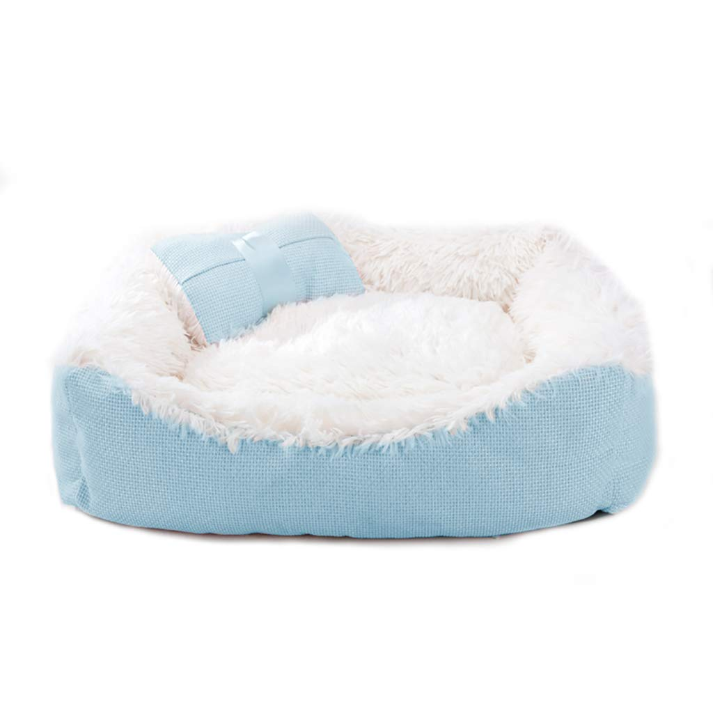 B 806020 B 806020 Pet house Cat nest kennel Small dog Medium dog Washable pet nest Pet mat Pet bed Soft and comfortable Four seasons available (color   B, Size   80  60  20)