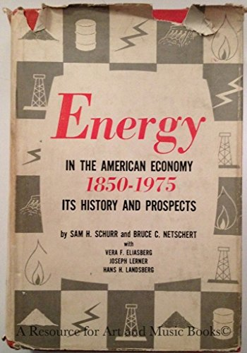 Energy in the American Economy, 1850 - 1975 (Costs Propane Fuel)