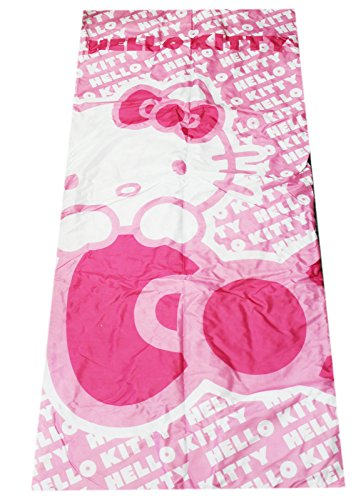 Hello Kitty Girls Pink and White Colored Polyester Sleeping Bag ()