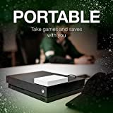 Seagate Game Drive for Xbox 2TB External Hard Drive Portable HDD, USB 3.0 – White, Designed for Xbox One, 1 Month Xbox Game Pass Membership
