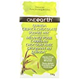 One Earth Functional Foods Quinoa Crunch Chocolate Square Mix, 358g (Pack of 4)