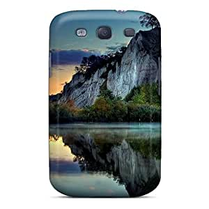 Awesome Design Mountain Lake Hard Case Cover For Galaxy S3 by icecream design