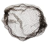 Heavyweight, Regular 3-string,20'' size, 1/4'' aperature, Heavy Mesh, Brown Nylon Hairnet (Case of 144)