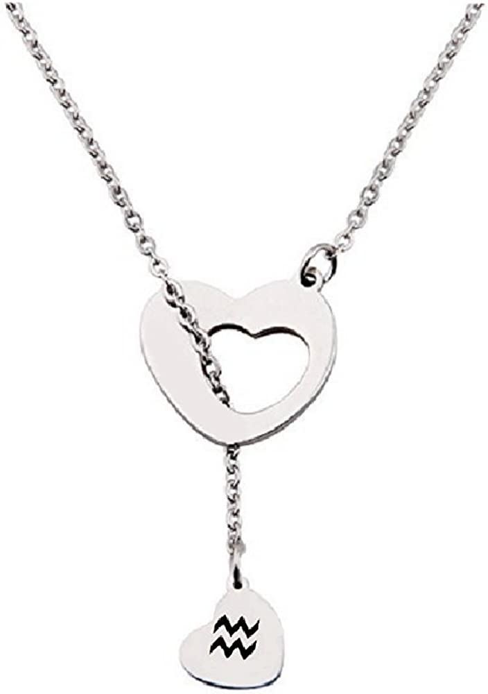Choker Statement Mikey Pendant Necklace for women Infinity Lariat Necklace