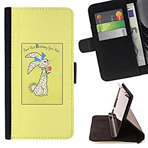 Jordan Colourful Shop - easter bunny holidays rabbit For Sony Xperia Z2 D6502 - Leather Case Absorci???¡¯???€????€?????????