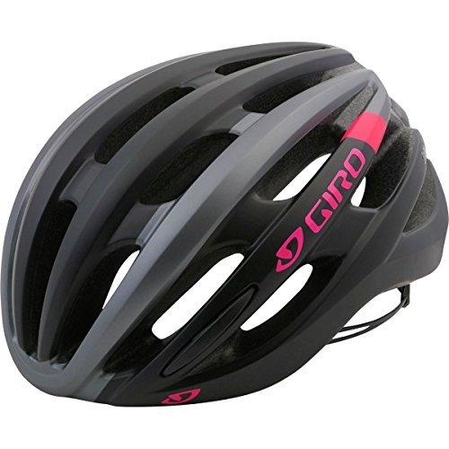 Giro Saga Helmet - Women's Matte Black/Pink Race, S