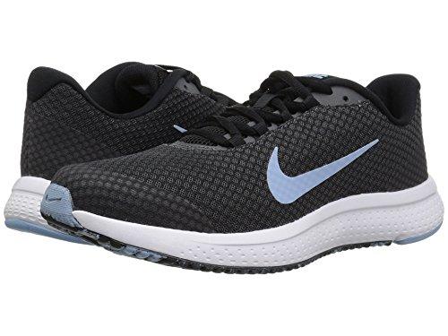 排泄する死にかけている薄い(ナイキ) NIKE レディースランニングシューズ?スニーカー?靴 RunAllDay Black/Leche Blue/Dark Grey/White 10 (27cm) B - Medium