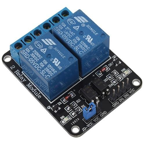 New 5V 2-Channel Relay Module Shield for Arduino ARM PIC AVR DSP Electronic 10A