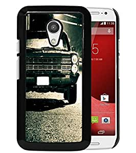 Excellent protection,Lightweight and durable 1967 Ford Galaxie Black Motorola Moto G (2nd generation) Case