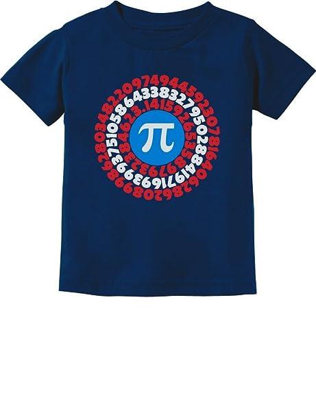 90bd359f2 Amazon.com: Pi Day Superhero - Captain Pi Gift for Math Geeks  Toddler/Infant Kids T-Shirt 5/6 Navy: Clothing
