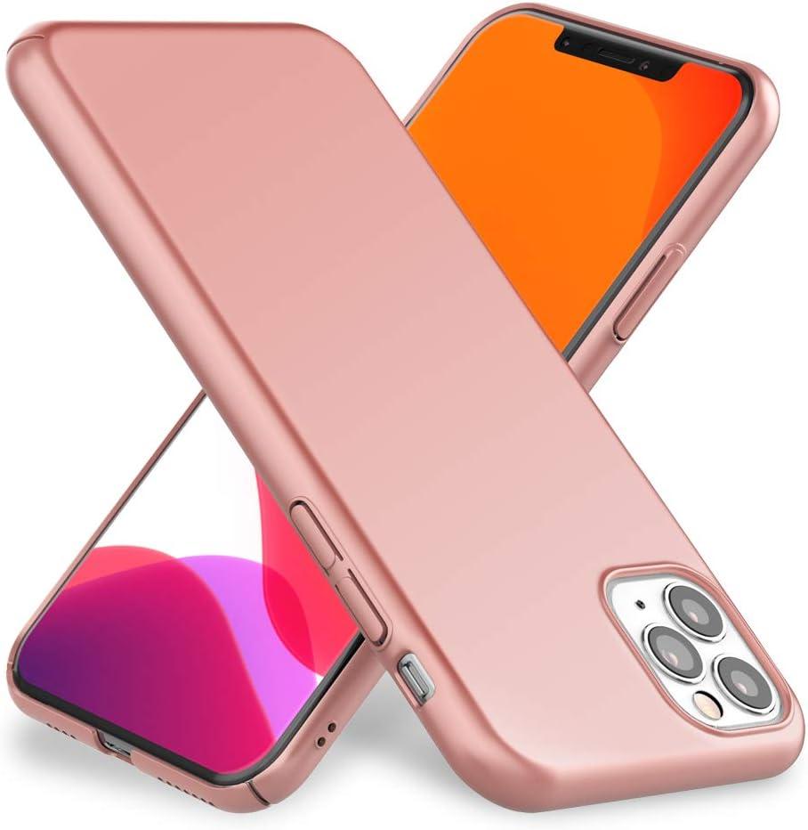 Housse de Protection R/éfl/échissant Rigide Hardcase Brillant /& Silicone Cadre Bumper Mince Anti-Choc Cover Etui Protege Couleur:Pink Rose NALIA Design Case Compatible avec iPhone 11 Pro Max Coque