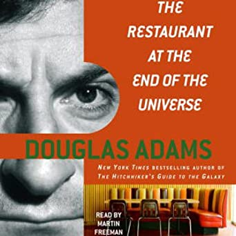 the restaurant at the end of the universe audiobook free