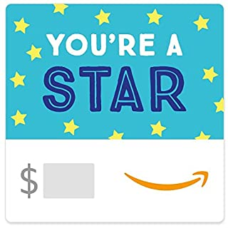Amazon eGift Card - You're a Star (Teal) (B01N7HJZIZ) | Amazon price tracker / tracking, Amazon price history charts, Amazon price watches, Amazon price drop alerts
