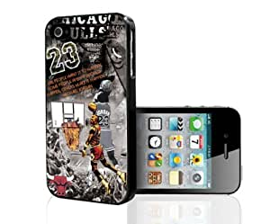 Basketball Legend #23 Collage Fan Art Hard Snap on Phone Case (iPhone 4/4s) by lolosakes