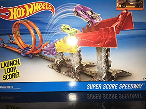 Hot Wheels Super Score Speedway (Hot Wheels Super Track)