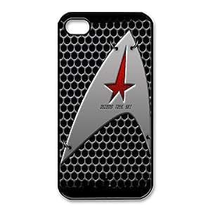 iPhone 4,4S Phone Case Black Star Trek DY7707807