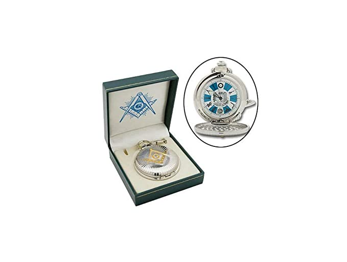 6a404ada8 Image Unavailable. Image not available for. Color: Masons Classic Masonic  Pocket Watch