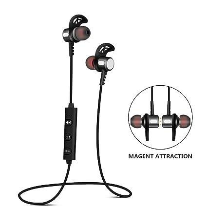 TTMOW Auricular Inálambrico, Deporte Auriculares Bluetooth In-Ear Cancelación de Ruido CVC 6.0 –
