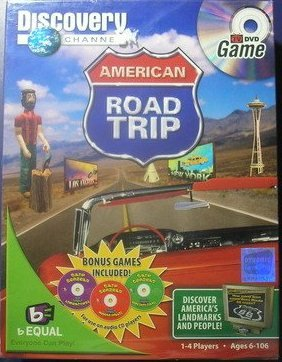 American Road Trip TV DVD Game (Discovery Channel)