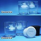 Fivebop Silicone Polar Ice Cube Molds, Penguin and Ice Polar Bear Shaped Trays