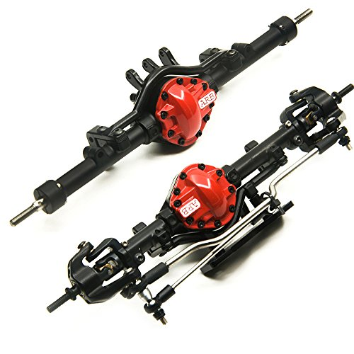 Aluminum Alloy ARB Edition Front Axle and Rear Axle for 1:10 D90 RC Model Crawler Car