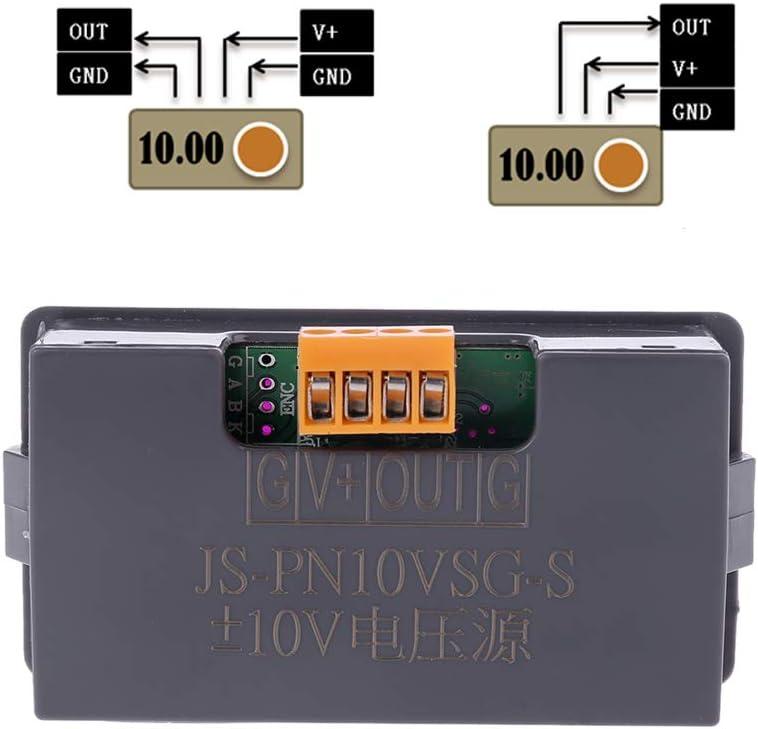 Adjustable Voltage Analog Simulator Signal Generator Source Output Positive and Negative 10V Voltage Source Signal Generator 0-10V