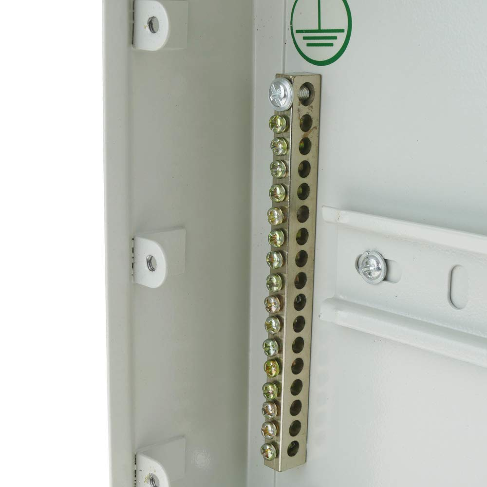 Caja de distribuci/ón el/éctrica SPN 16M IP40 para superficie de metal Cablematic