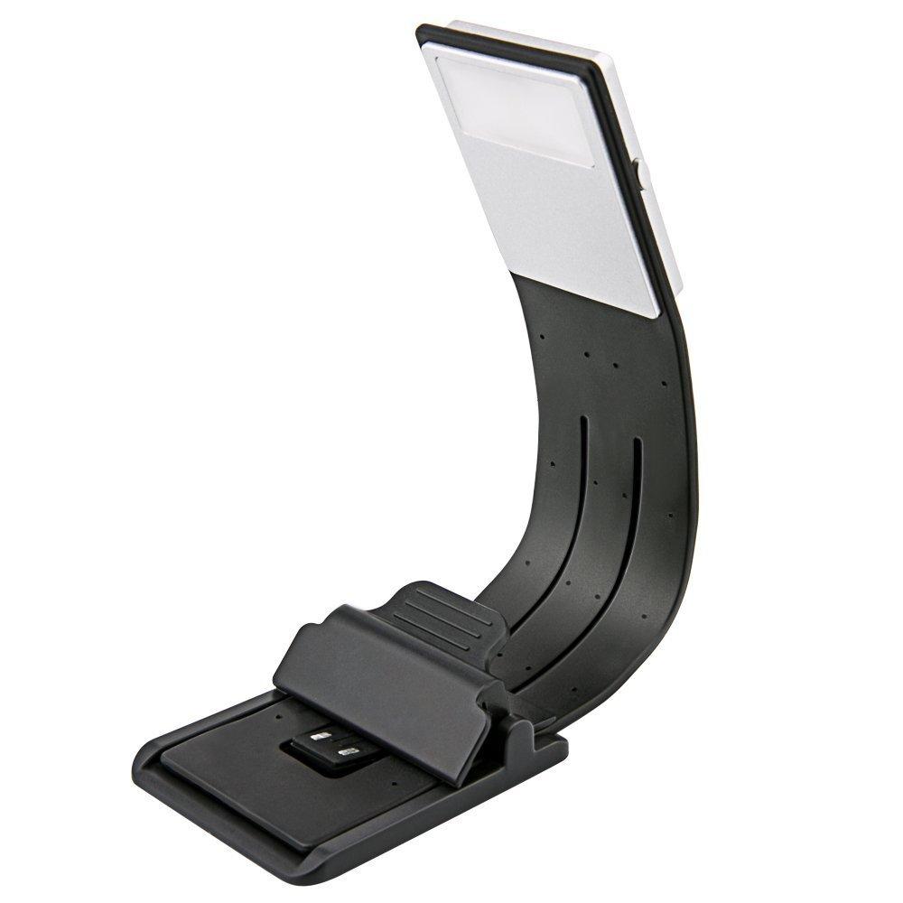 Luz LED libro de lectura flexible Clip lámpara Ajustable para Kindle//lectores de libros electrónicos