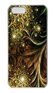 iPhone 5S Case,Wild Pattern PC Hard Plastic Case for iPhone 5/5S Transparent