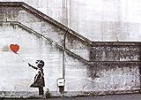 Banksy (Reproduction) Balloon Girl Art Print Poster