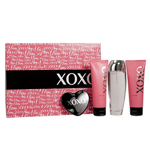 Xoxo Women Gift Set (Eau De Parfum Spray, Satin Body Lotion, Moisturizing Shower Gel, Mirror) ()
