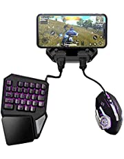 Battledock Converter Bluetooth 5.0 Gamepad with Keyboard Mouse,PUBG Mobile Android PUBG Controller, Mobile Controller Gaming for iOS Ipad to PC