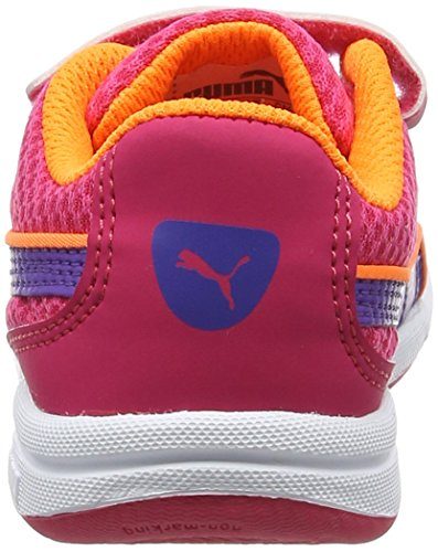 Puma Stepfleex Mesh V Inf, Zapatillas Unisex Niños Rosa (Sparkling Cosmo-electric Purple 04)