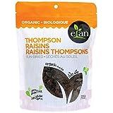 ELAN Organic Sun-Dried Thompson Raisins 225 Gram