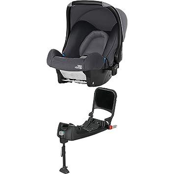 Britax Römer Baby Safe Babyschale Set Gruppe 0 Geburt 13 Kg Kollektion 2019 Inkl Isofix Station Storm Grey Baby